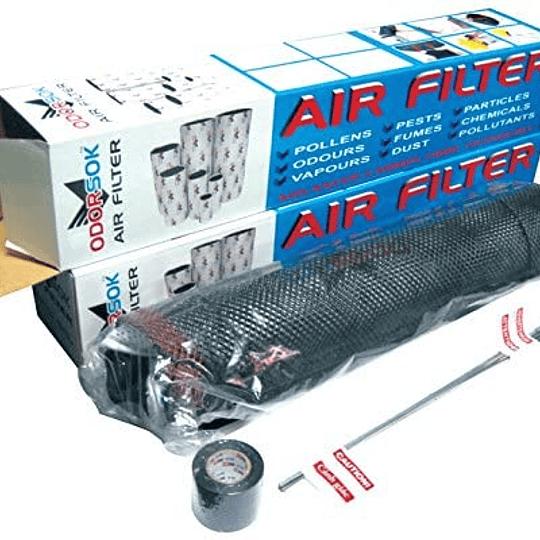 Filtro de olor 150x400 mm 6x16 inches Odor Sok