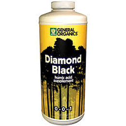 Diamond Black 250ml General Organics