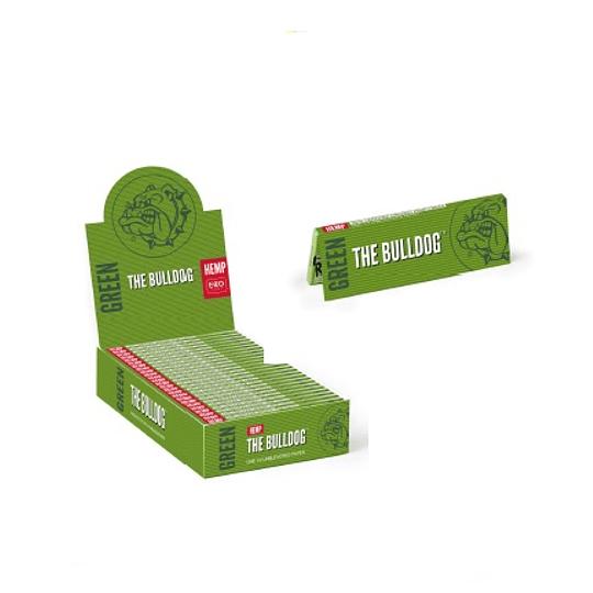 Papelillos Bulldog Amsterdam Verde Cañamo Organico