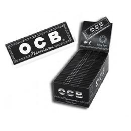 Papelillos OCB Negro N 1