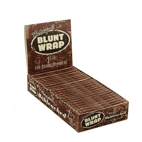 Papelillos Blunt Wrap Unbleached (sin cloro) 1 1 /4