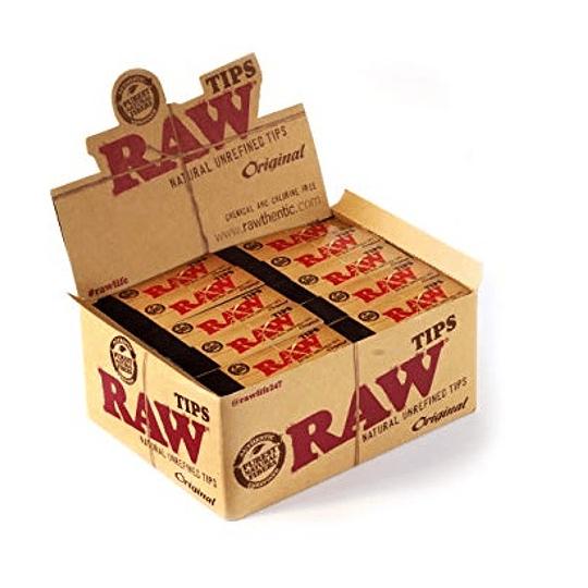 Tips Raw original de carton