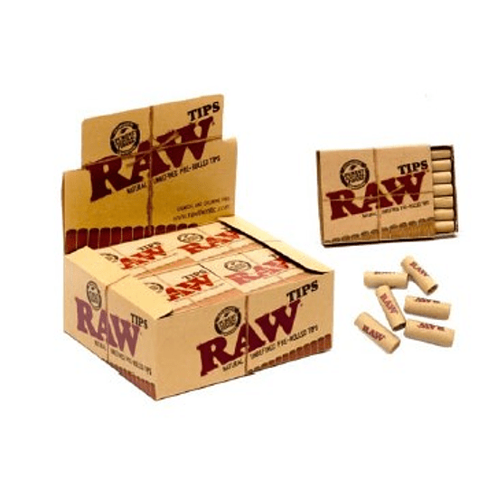 Tips Raw preenrolados
