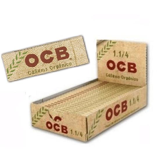 Papelillos OCB Cañamo Organico 1 1/4