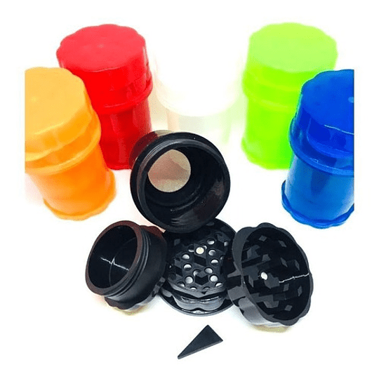Moledor mas contenedor plastico