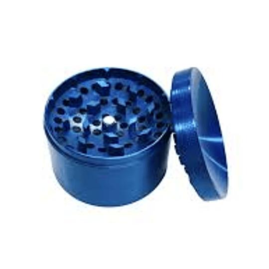 Moledor 1 piso pequeño metalico azul
