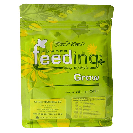 Feeding Grow 500gr Green House
