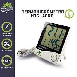 Termohigrometro HTC -Agro Grow Genetics