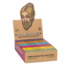 Lion Rolling Circus 11/4 Unbleached Rolling Paper