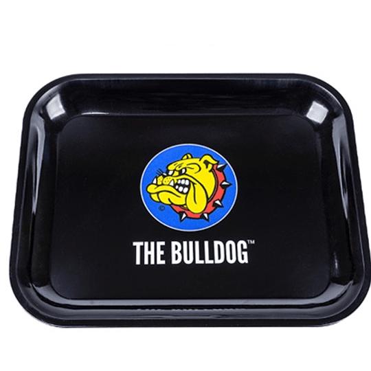 Bandeja metalica The Bulldog Amsterdam grande Logo