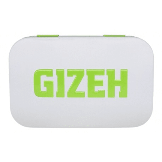 Cajita metalica Gizeh verde rectangular