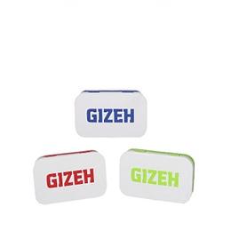 Cajita metalica Gizeh azul rectangular