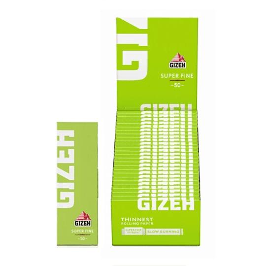 Papelillo Gizeh Verde N1 Super fine