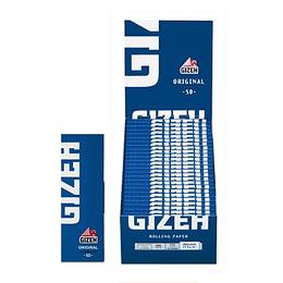 Papelillo Gizeh  Azul Original N°1 combustion rapida