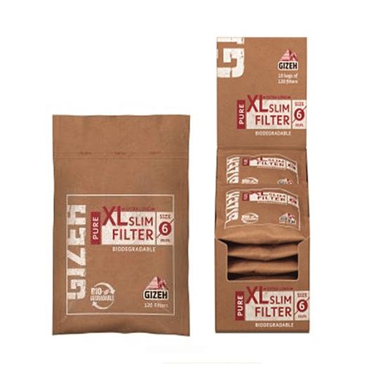 Filtro Gizeh Pure xl Organicos biodegradables