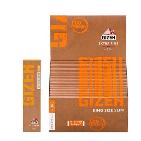 Papelillo Gizeh Pure  King Size Cañamo Organico