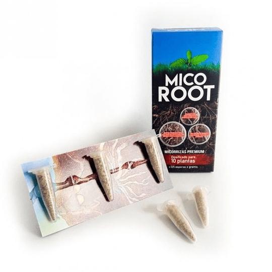 Mico True 5 gramos  Micorrizas Premium (10plantas)