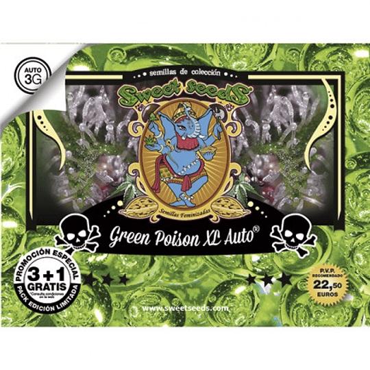 Green Poison XL Auto 3+1 Sweet Seeds