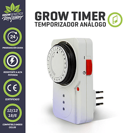 Timer Analogo Grow Genetics