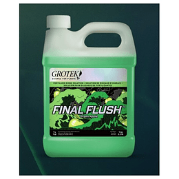Final Flush Manzana 1L Grotek
