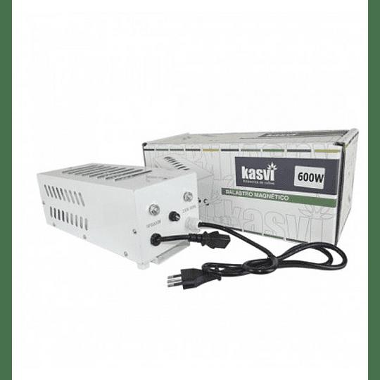 Balastro magnetico 600w Plug and play  Kasvi (incluye cable IEC )