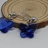 Mariposas cristal azul