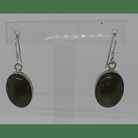 Ovalos piedra labradorita