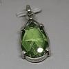 Cristal austriaco facetado rojo o verde