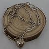 Tobillera cadena rectangular