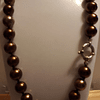 Collar perlas grandes shell