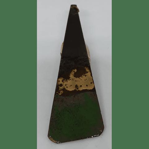 Triángulo cobre esmaltado