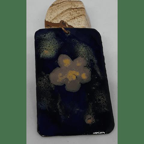 Colgante cobre esmaltado