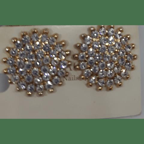Aros de cristales austriacos