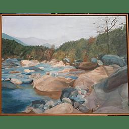 Paisaje río Clarillo