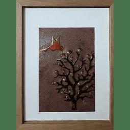 Cuadro cobre esmaltado