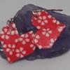 Aros corazón Origami