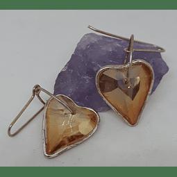 Corazones cristal austriaco