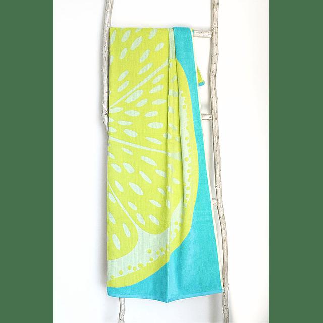 Toalha de praia laminada - Lemonade