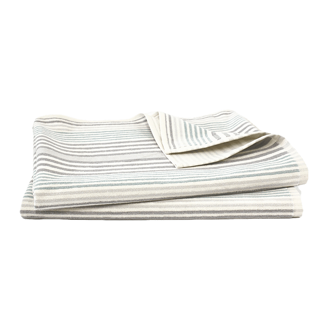 Toalha de praia - Grey stripes