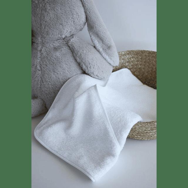 Toalha de banho para bebés