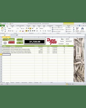 Planilla de Ventas en Excel - Mejore su atencion al Cliente