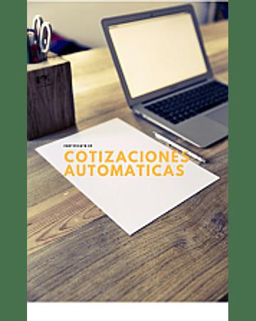 Cotizaciones Automaticas con Imagenes Excel