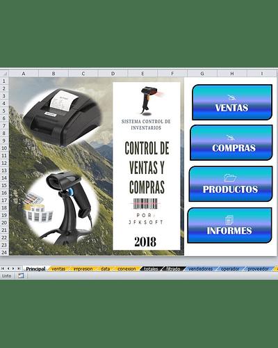 Sistema de Control de Inventarios Compras y Ventas Plantilla Master  Versión Developer