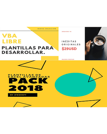 Pack 2018 - Plantillas Avanzadas JFKSOFT