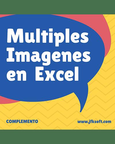 Complemento para insertar imagenes en lote con Excel