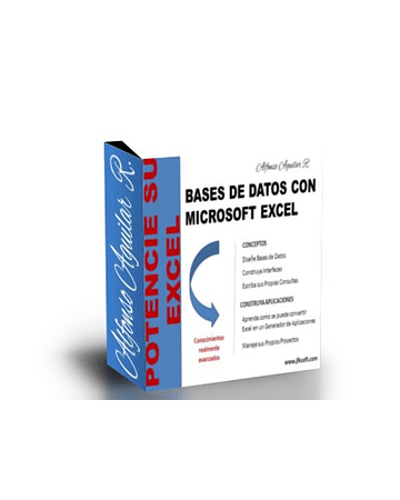Libro Digital: Uso de Base de Datos con Excel y Access + Incluye Generador VBA Gratis