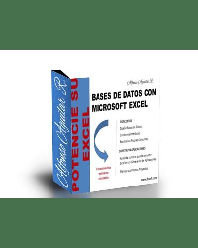 Libro Digital: Uso de Base de Datos con Excel y Access + Incluye Generador VBA Gratis