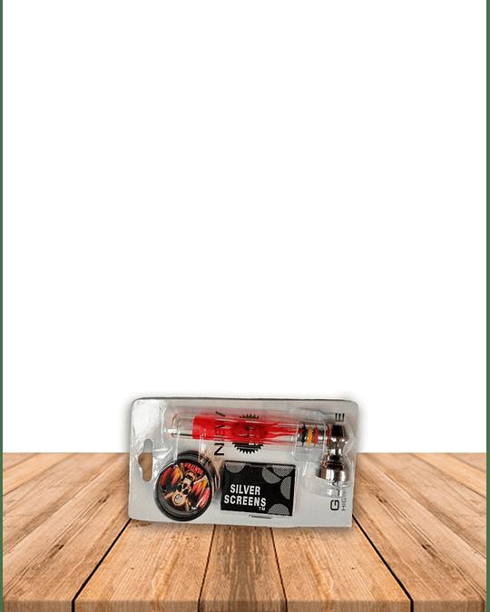 Set Pipa Moledor Vidrio DK7050