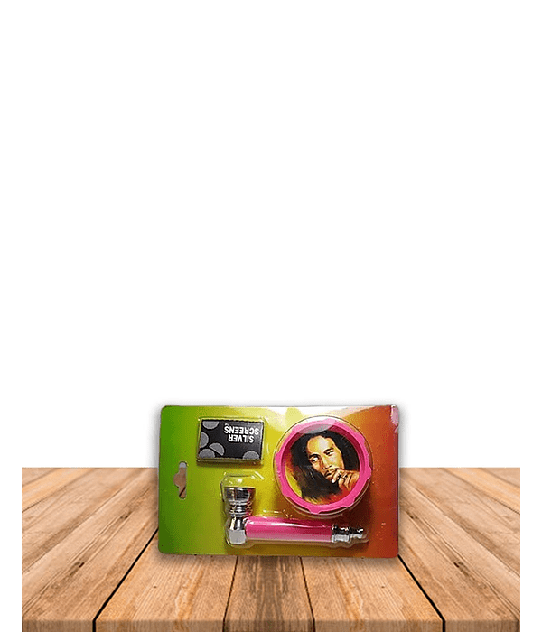 Set Pipa Moledor Acrílico Pack de 3