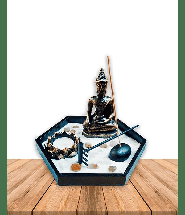 Jardin Zen Exagono JI19-017